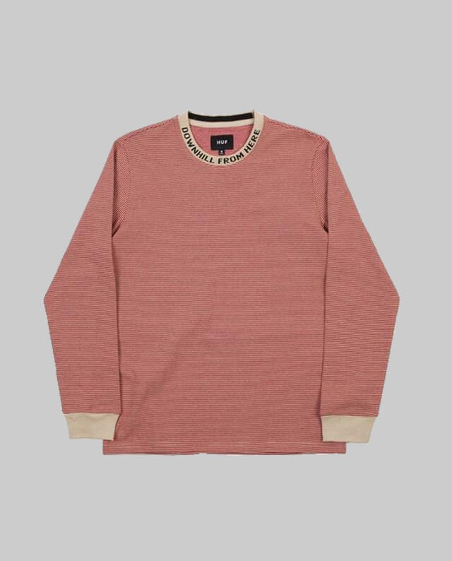 32fdd76d89 Huf T-Shirt L/S Downhill Stripe • Feel It! Shop